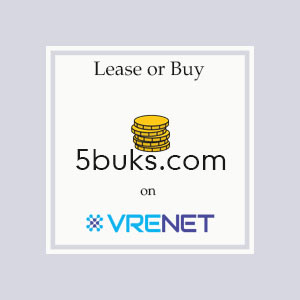 Perfect Domain 5buks.com for you