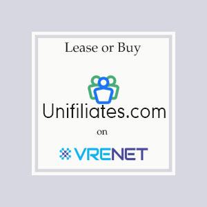 Perfect Domain UniFiliates.com for you
